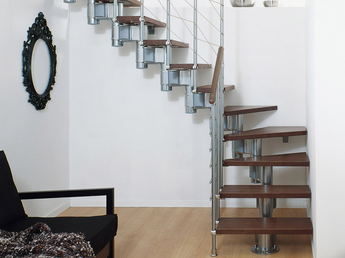 escaliers long line pixima escaliers r glables lors de la pose fontanot. Black Bedroom Furniture Sets. Home Design Ideas